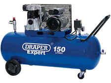 Draper Da150/365c 230v 150l 2000w 3 PS Riemen Angetrieben Luftkompressor
