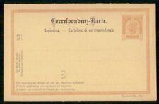 MayfairStamps Austria Deutsch-Illir-Ital 2 Kreuzer Mint Postal Stationery Card W
