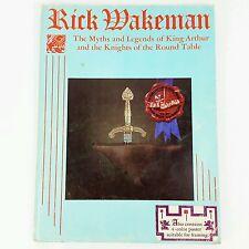 Rick Wakeman Myths Legends King Arthur Knights Round Table Songbook Sheet Music