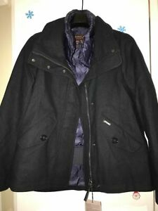 Genuine Woolrich  BRAND NEW 'gracie' coat double layered  with puffer £700