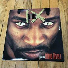 """Nine – """"Nine Livez"""" OG US pressing, NM/VG+"""