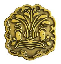 KLOES INDRA (ANTIQUE GOLD) ENAMEL PIN BY CREAMLAB