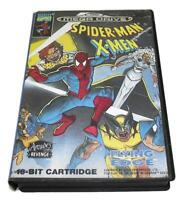 Spider-Man X-Men Sega Mega Drive PAL *No Manual*