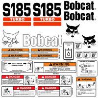 Set of 4 - 8 Lug Bobcat S185 Skid Steer Wheels, 8 25x16 5, Fit 10x16