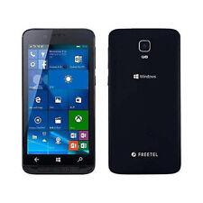 FREETEL KATANA 01 Black / Windows 10 Dual SIM-free slot from Japan Free Shipping