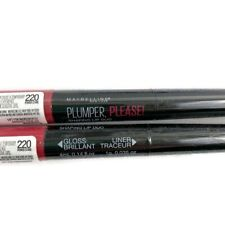 Lot Of 2 Maybelline Plumper Please Shaping Lip Duo Power Stare 220 Gloss Liner