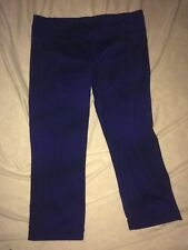 Under Armour Women's Athletic Perfect Print Capri Leggings Pants~Fitted~ Size M