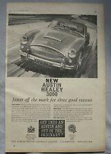 1961 Austin Healey 3000 Original advert No.1