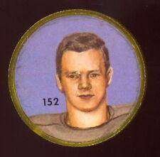 1963 CFL NALLEY'S POTATO CHIP FOOTBALL SP COIN #152 JIM CARPHIN EX-NM B C LIONS