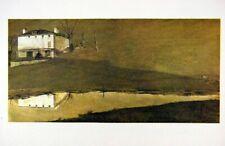 Andrew Wyeth Gravure Print BROWN SWISS & KARL'S ROOM, Kuerner's