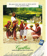 PUBLICITE ADVERTISING 114  1994  CYRILLUS  vetements enfants