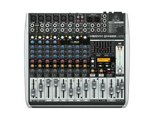 Behringer XENYX QX1222USB 16-Input 2/2-Bus Mixer with Compressors, FX, and USB