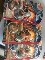 Spin master BAKUGAN 3 Pack starter pack series 2 sealed pack DRAGONOID Rare 2008