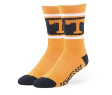 Tennessee Volunteers Socks '47 Brand Duster Large Orange Men's 9-13 New NWT L
