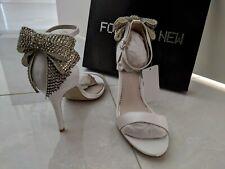 Brand New Forever New Ella Heels 37 Wedding Bow RRP $109.99