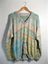 COOGI | AUTHENTIC Vintage Cosby Sweater Knit 3D Hip Hop Retro 90s Jumper | L