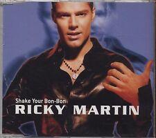 RICKY MARTIN - Shake your bon-bon - CDs SINGLE 1999 NEW NOT SEALED 4 TRACKS