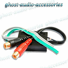 2 Channel RCA Line Input Output High to Low level converter adaptor lead CTLOC10