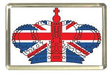 Union Jack Crown Fridge Magnet - Best of British