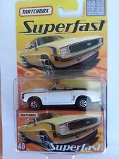 Matchbox Superfast limited edition collectible no. 40  Chevrolet Camero SS