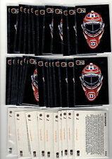 1X PATRICK ROY 1991-92 Pro Set FRENCH CC2 Le Masque NRMT Bulk lot Available Habs