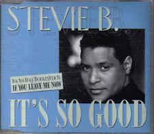 Stevie B- Its so good cd maxi single