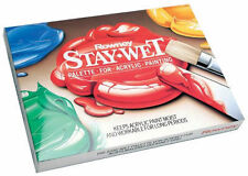 Daler Rowney Stay Wet Mixing Palette for Acrylics - Staywet Large