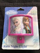 New Disney Frozen Led Nightlight With Elsa And Anna