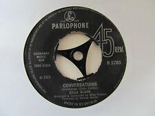 "CILLA BLACK Conversations/Liverpool Lullaby UK 7"" Single EX Cond"