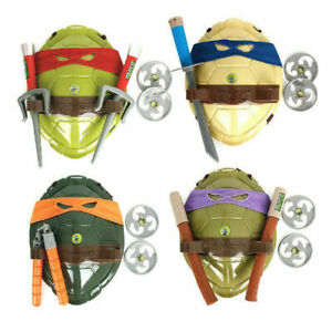 UK Halloween Act TMNT Teenage Mutant Ninja Turtles Costume Shell/Weapon Kids Toy