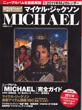 Michael Jackson Livre japonais Tribute Calendar Japanese JAPAN Book 2011