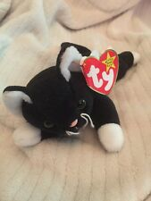 SPECIAL 1993 PVC ZIP Beanie Baby with POUNCE hang tag-mint RARE ERROR WRONG TUSH