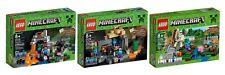 LEGO 21113,21119, 21123 minecraft-die höhle-das verlies-der eisengolem-ovp-neu