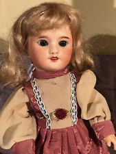 Antique bisque français UNIS FRANCE Doll Poupées 1855-1924 French Dolls Head 35 cm