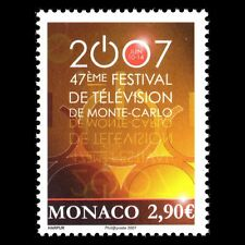 Monaco 2007 - 47th International Television Festival Art - Sc 2465 MNH