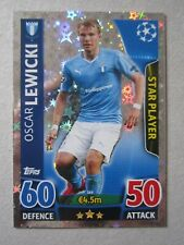 Champions League 2015/16 Star Player card Oscar Lewicki of Malmo