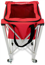 PowerNet Wheeled Ball Caddy Cart for Baseball Softball and Tennis