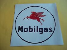 """GAS PUMP MOBIL GAS FRONT DECAL 11"""""""