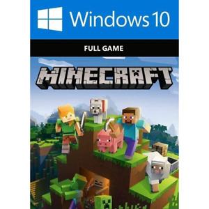 Minecraft Windows 10 Edition CD KEY Digital  INSTANT