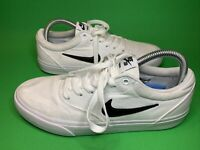 Nike SB Charge Trainers White On White Size 7 Uk Eur 41 Great Condition