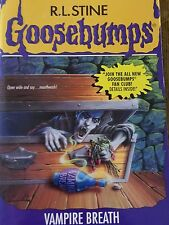 GOOSEBUMPS book R L STINE original cover series #49 VAMPIRE BREATH
