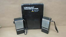 Viscount Transceiver Model Wt410 4 Transistor Walkie Talkie