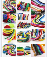 5mm Natural Cotton Rope 8 Strand Braided Twisted Cord Twine Accessory 22 color