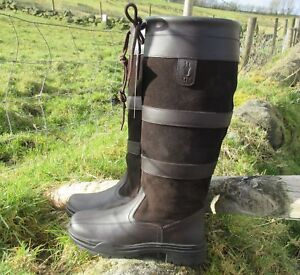 KTY Country / Riding Boots Long Leather Walking Equestrian Ladies Mens - Cheap!