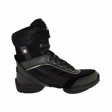 Black Capezio DS34 Battle Boots split sole dance sneakers - size UK 6