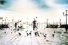 """Venice Italy Piazza San Marco photography poster 24 x 36"""""""
