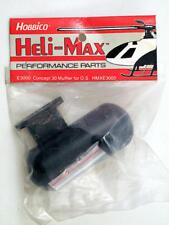 Heli-Max HMXE3000 Marmitta E3000 Concept 30 Muffler for O.S. modellismo