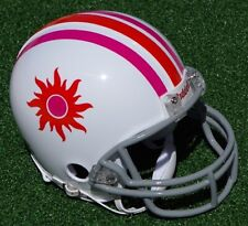 SOUTHERN CALIFORNIA SUN WORLD FOOTBALL LEAGUE WFL THROWBACK MINI FOOTBALL HELMET