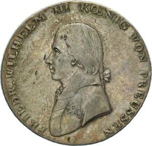 Brandenburg-Preußen Friedrich Wilhelm III. Taler 1803 A (Berlin) Silber ss+