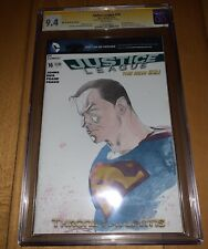 CGC SS 9.4 Justice League #16 Superman sketch Art cover by Esad Ribic, Rare